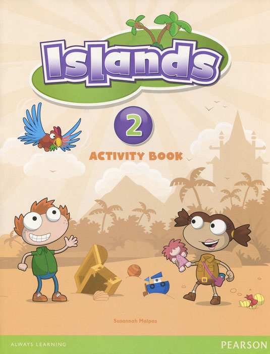 Islands: Level 2: Activity Book (+ наклейки) christmas colouring and activity book