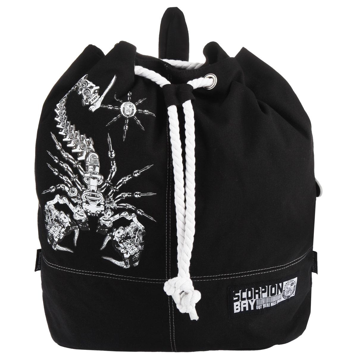 Рюкзак-мешок Scorpion Bay, цвет: черный. SCCB-UT1-721