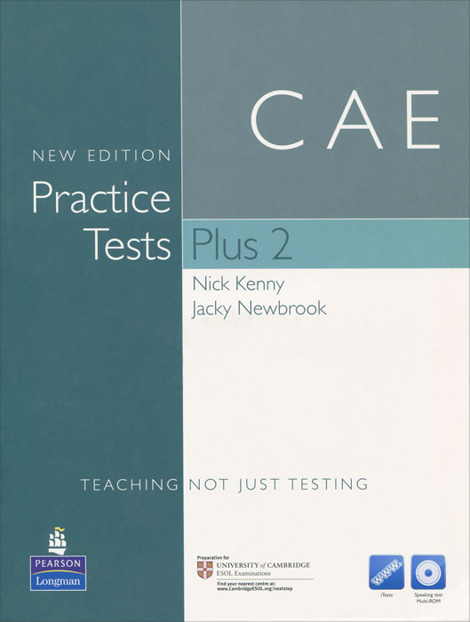 CAE: New Edition: Practice Tests Plus 2 (+ CD-ROM) complete advanced student s book with answers cd rom