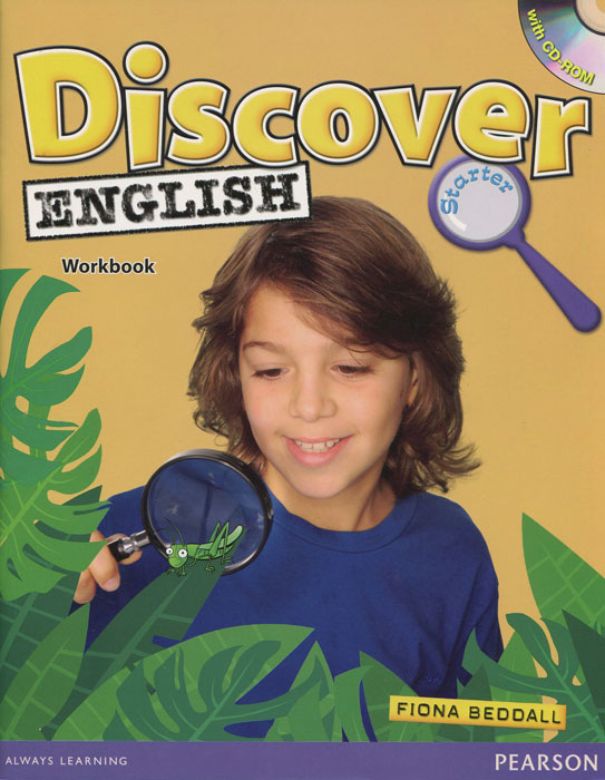 Discover English: Starter: Workbook (+ СD-ROM) blue fins starter level cd rom