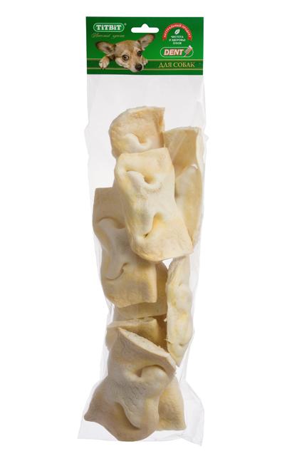 Лакомство для собак Titbit, нос телячий, 7 шт2633Упаковка содержит 7высушенных телячьих носа. Высокое содержание белка, хрящевой и соединительной ткани. Помогает развивать зубочелюстной аполипропиленовый пакетарат вашей собаки, укрепляет десны, очищает зубы, питает хрящевую ткань суставов. На некоторое время успокаивает даже очень активных собак, позволяя вам заняться накопившимися делами. Состав: Высушенный телячий нос. Тайная жизнь домашних животных: чем занять собаку, пока вы на работе. Статья OZON Гид