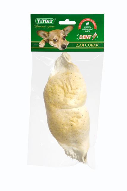 Лакомство для собак Titbit, губа говяжья, большая лакомство для собак titbit печенье pene с сыром и зеленью