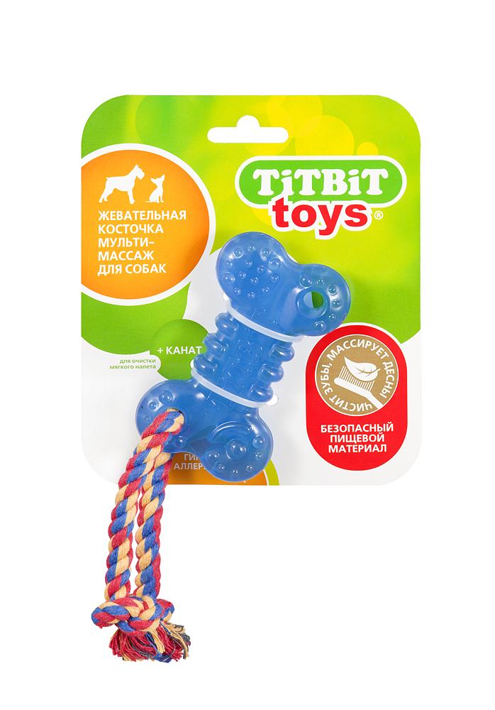 Игрушка жевательная для собак Косточка + канат, длина 10 см748Жевательная игрушка для собак Косточка изготовлена из безопасного гипоаллергенного материала роттолина, используемого в детской промышленности, что свидетельствует об абсолютной безопасности игрушки. Канат выполнен из натурального хлопка. При случайном проглатывании косточки кусочки выводятся, не причиняя вреда организму. Форма и размер игрушки адаптированы для челюстей собак разных возрастов мелких и средних пород. Игрушка имеет разную текстуру поверхности, максимально способствующую массажному и очищающему эффекту.Игрушка предназначена для щенков и взрослых собак средних и мелких пород. Характеристики:Материал косточки:роттолин. Материал каната:100% хлопок. Размер косточки:10 см х 6 см х 2 см. Вес косточки:50 г. Размер упаковки:16 см х 14 см. Цвет:синий, прозрачный. Артикул:748.