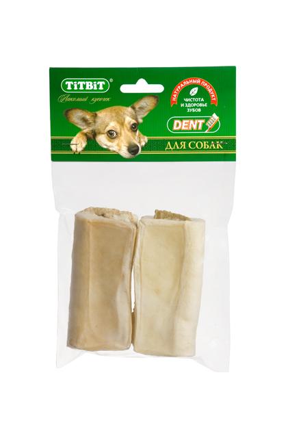 Лакомство для собак Titbit, сэндвич с говяжьим рубцом, 2 шт. 78557855Высушенная в форме сэндвича говяжья кожа с начинкой из рубца говяжьего. Упаковка содержит 2 штуки. Благодаря большому содержанию аминокислот и коллагена положительно воздействует на хрящевую ткань, состояние кожи и шерсти собаки. Рубец улучшает аполипропиленовый пакететит, устраняет ферментную недостаточность и придает лакомству особый вкус, который так нравится собаке. Благодаря волокнистой структуре являются своеобразной зубной щёткой, способствующей укреплению дёсен, удалениюзубного налёта и профилактике образования зубного камня.Состав: Высушенная кожа говяжья, рубец.