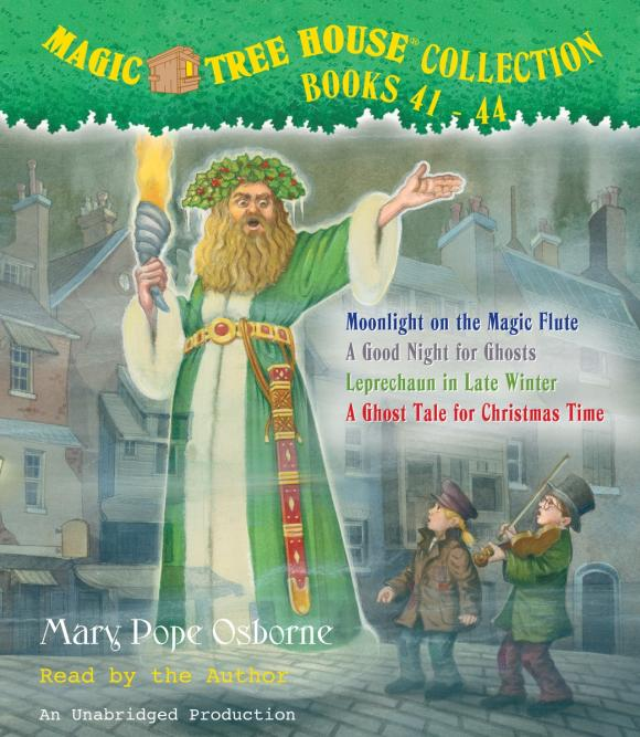 Magic Tree House Collection: Books 41-44 mary pope osborne magic tree house cd edition books 17 24