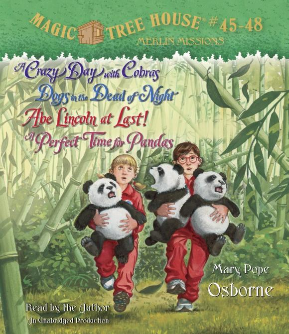 Magic Tree House Collection: Books 45-48 mary pope osborne magic tree house cd edition books 17 24