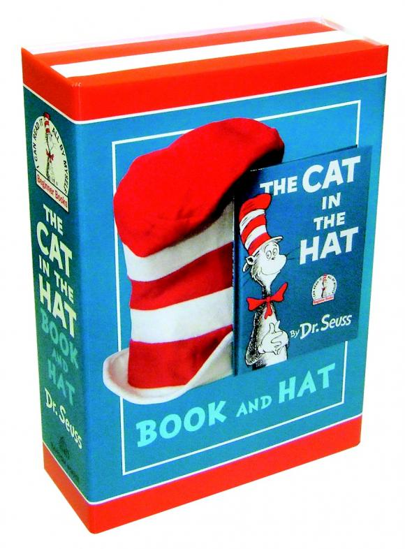 The Cat in the Hat Book and Hat a cat a hat and a piece of string