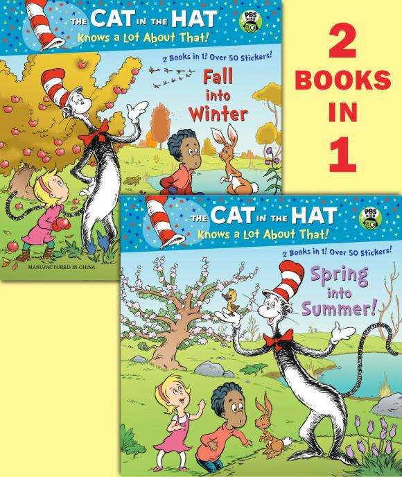 купить Spring into Summer!/Fall into Winter!(Dr. Seuss/Cat in the Hat) по цене 679 рублей