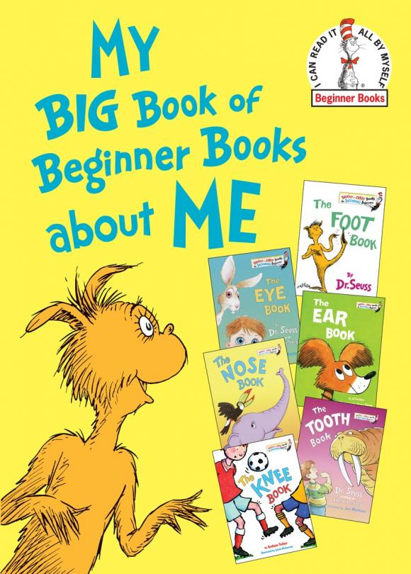 My Big Book of Beginner Books about Me dr seuss bilingual classical picture book full set of 15 volumes of 7 10 year old simplified chinese and english paperback