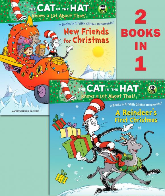 Купить A Reindeer's First Christmas/New Friends for Christmas (Dr. Seuss/Cat in the Hat)