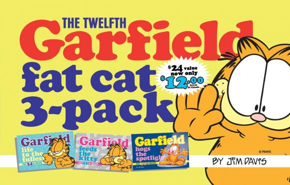 The Twelfth Garfield Fat Cat 3-Pack the 7th garfield treasury