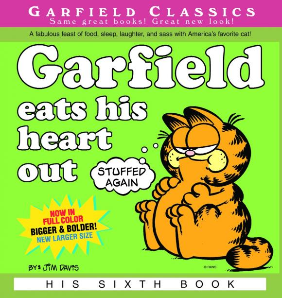Garfield Eats His Heart Out gq eats