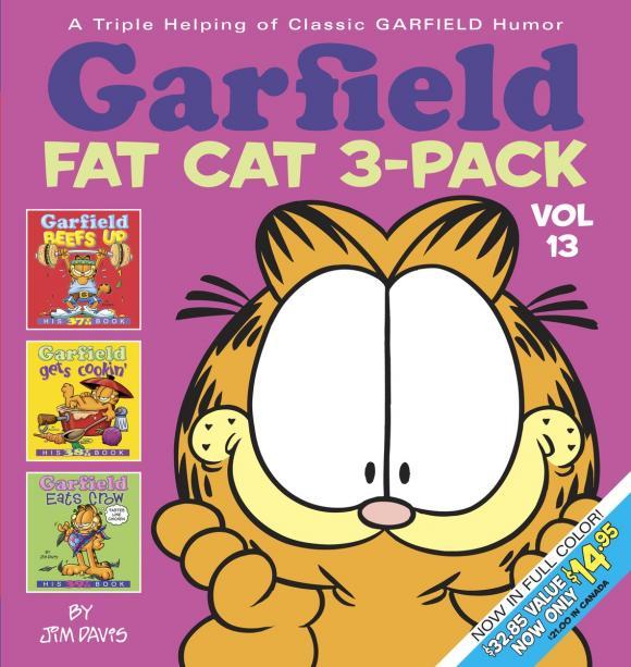 Garfield Fat Cat 3-Pack garfield fat cat 3 pack volume 9