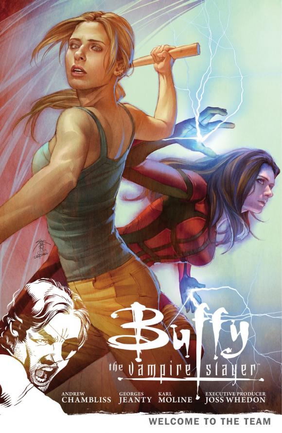 Buffy the Vampire Slayer Season 9 Volume 4: Welcome to the Team buffy season nine library edition volume 2