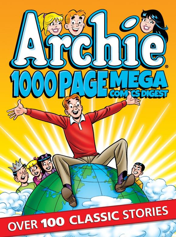 Archie 1000 Page Comics Mega-Digest шапка drykorn 400222 1000 page 6
