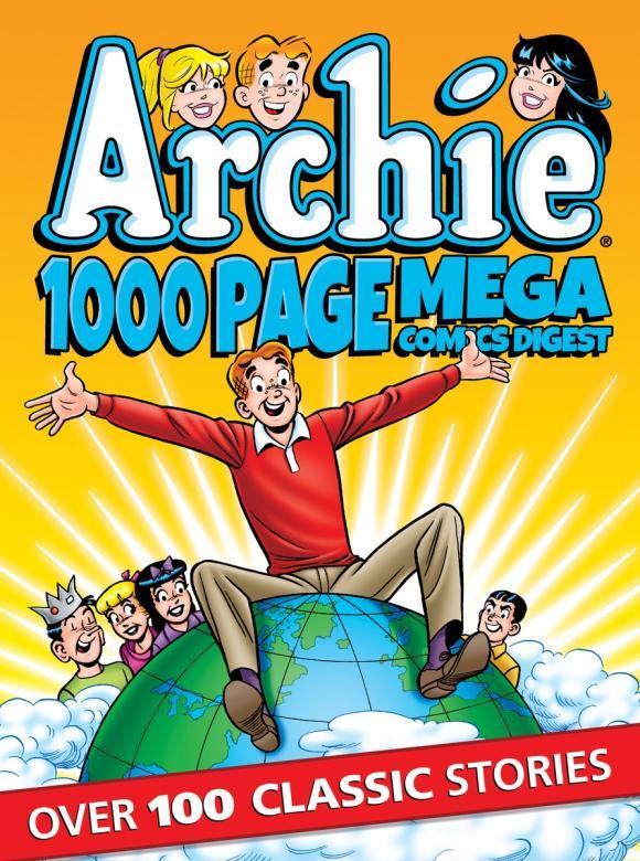 Archie 1000 Page Comics Mega-Digest комплект роликов archie профиль 2м