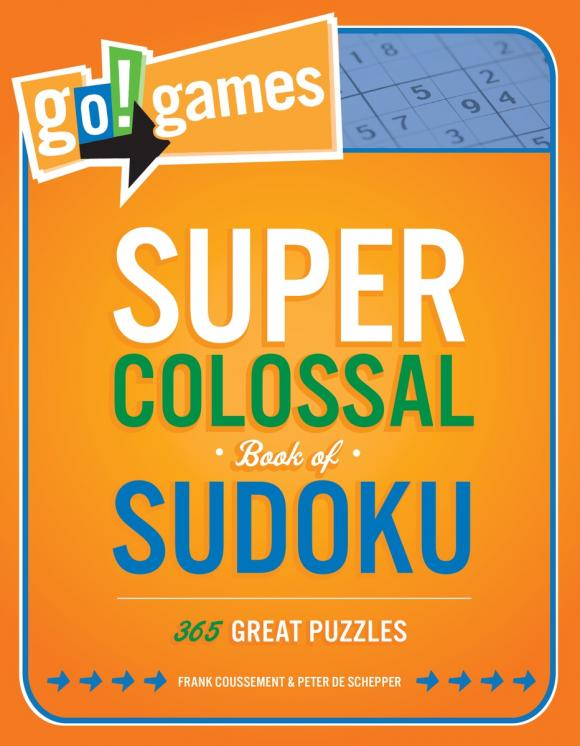 Go!Games Super Colossal Book of Sudoku go games the sudoku challenge