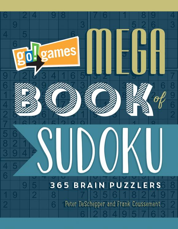 Go!Games Mega Book of Sudoku go games the sudoku challenge