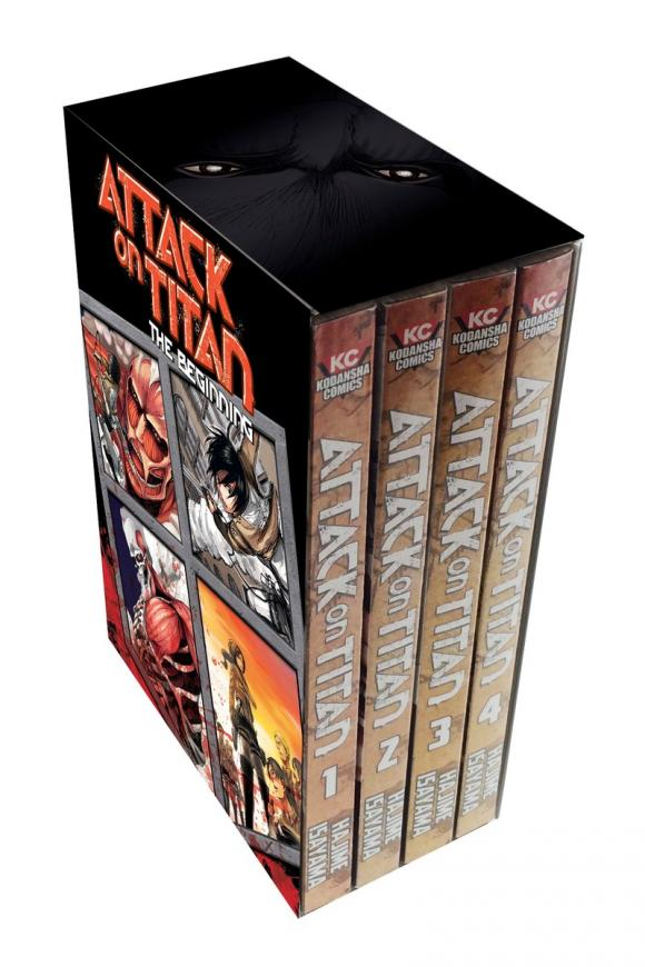 Attack on Titan: The Beginning Box Set hook ups counter attack