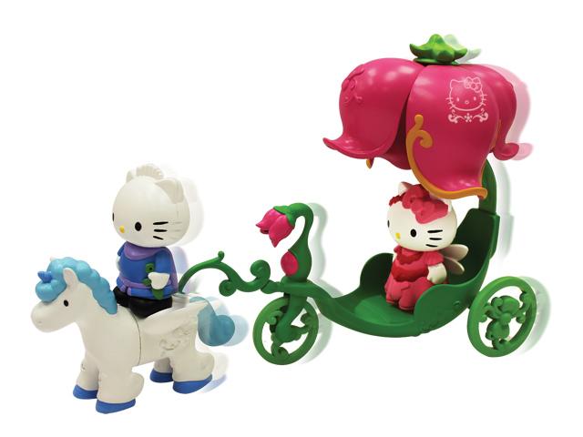 Набор Карета с лошадью набор для игры в маджонг hello kitty