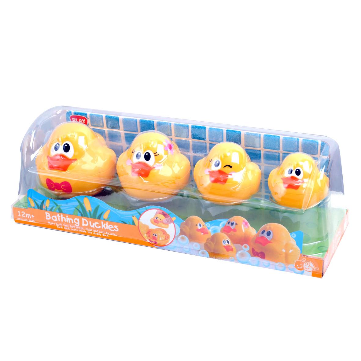 Playgo Игровой набор для ванной Утята playgo