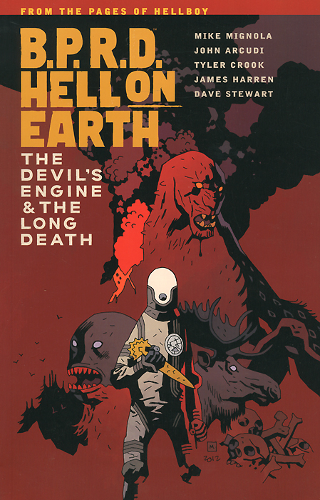 B.P.R.D.: Hell on Earth: Volume 4: The Devil's Engine & The Long Death compatible projector lamp for sanyo plc zm5000l plc wm5500l