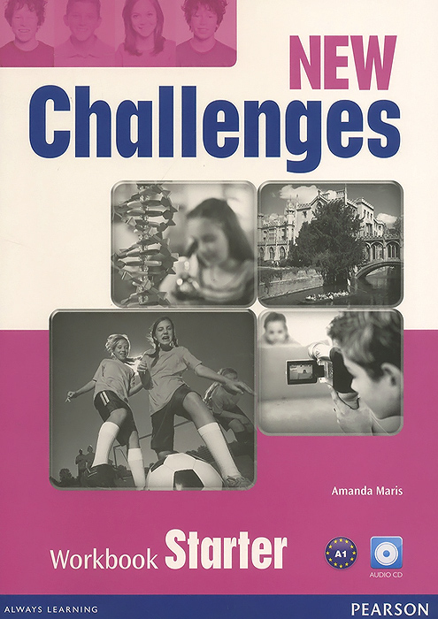New Challenges: Starter: Workbook (+ CD-ROM) blue fins starter level cd rom