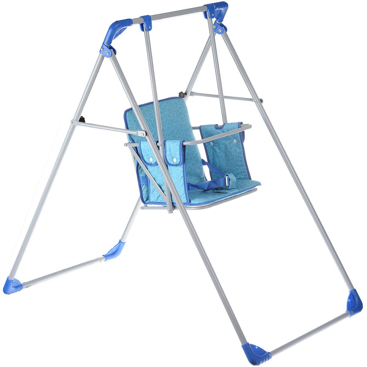 Качели Фея Чарли, цвет: синий, бирюзовый детские качели в квартиру
