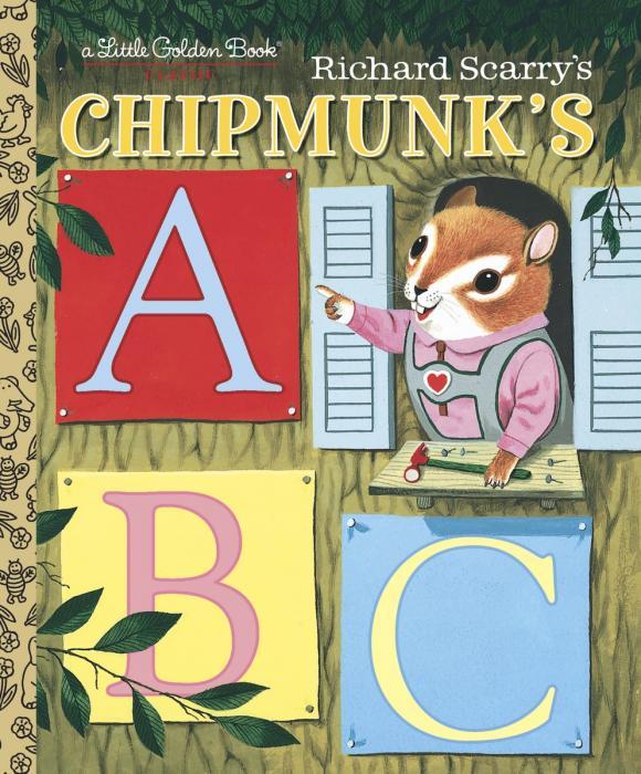 Купить Richard Scarry's Chipmunk's ABC,