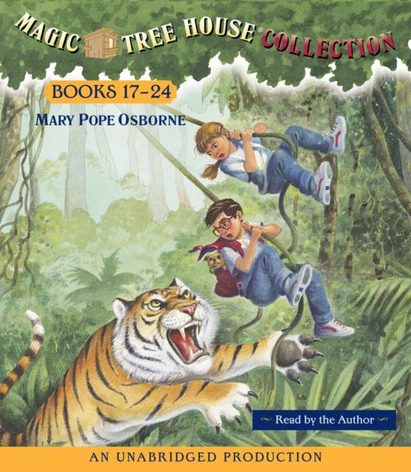Magic Tree House CD Edition Books 17-24 mary pope osborne magic tree house 2 the knight at dawn full color edition