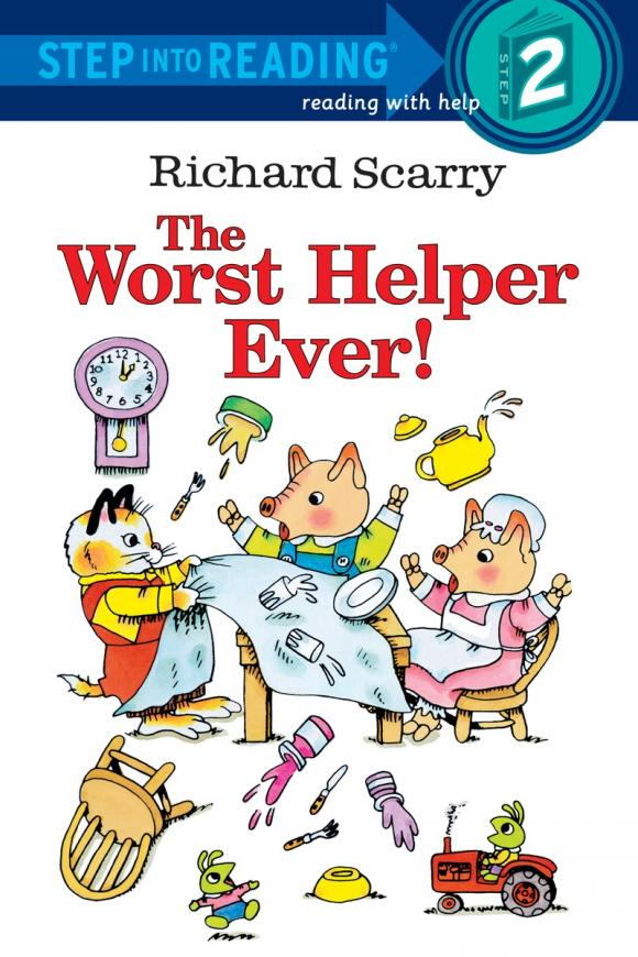 Richard Scarry's The Worst Helper Ever сковороды helper сковорода helper granit мокко 24 см