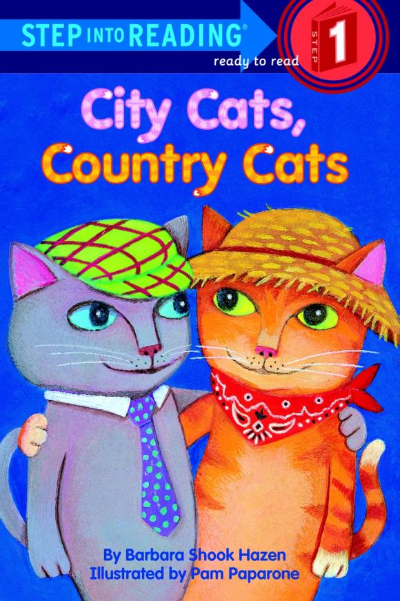 City Cats, Country Cats montale aoud red flowers
