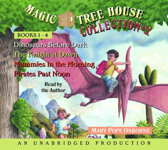 Magic Tree House Collection Volume 1: Books 1-4 mary pope osborne magic tree house cd edition books 17 24