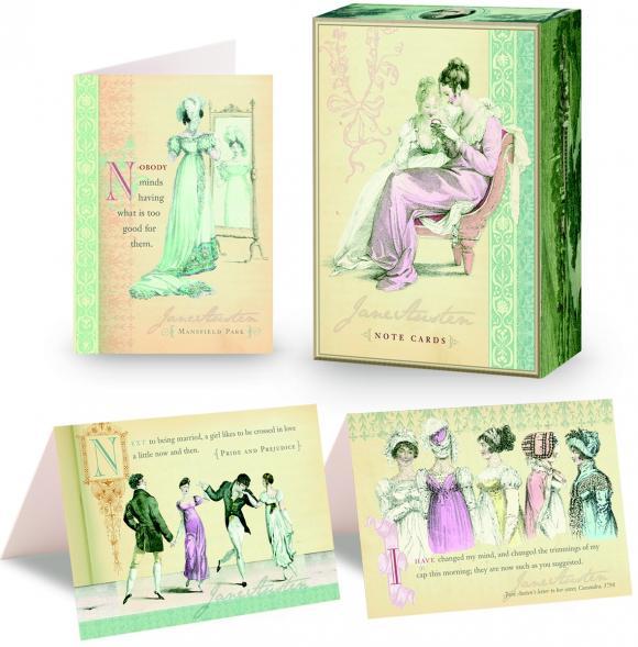 Jane Austen Note Cards austen sense