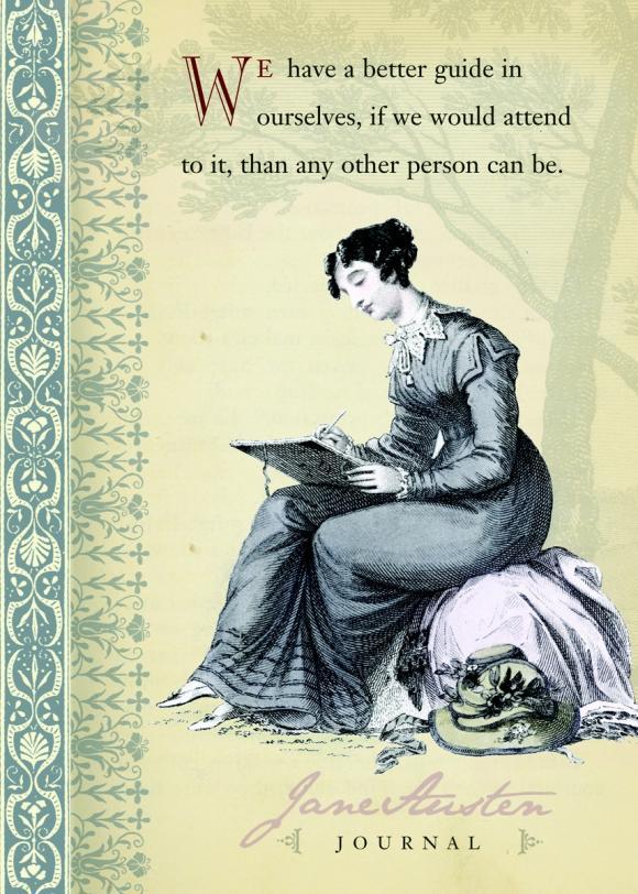 Jane Austen Journal jane austen note cards