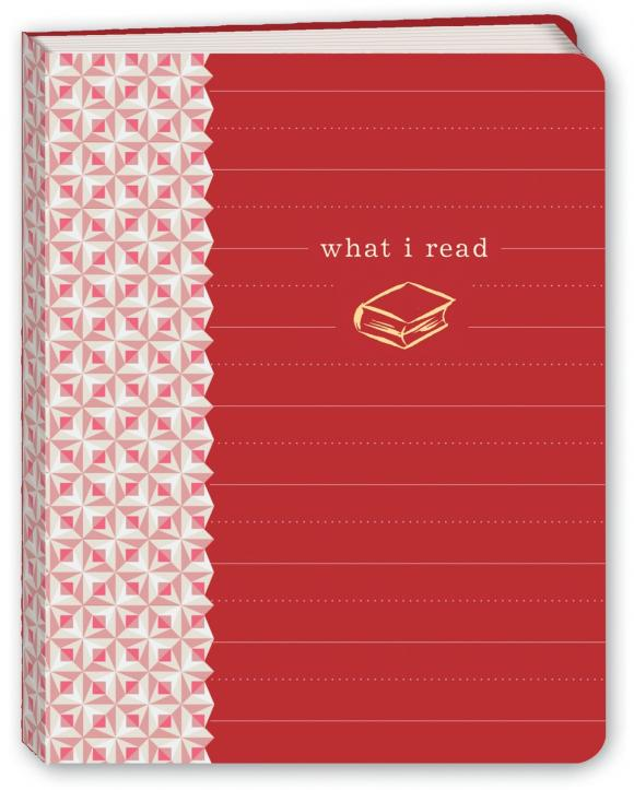 What I Read (Red) Mini Journal 2017 new a5 business notebook line meeting diary journal gift buckle journal notepad diary planner office