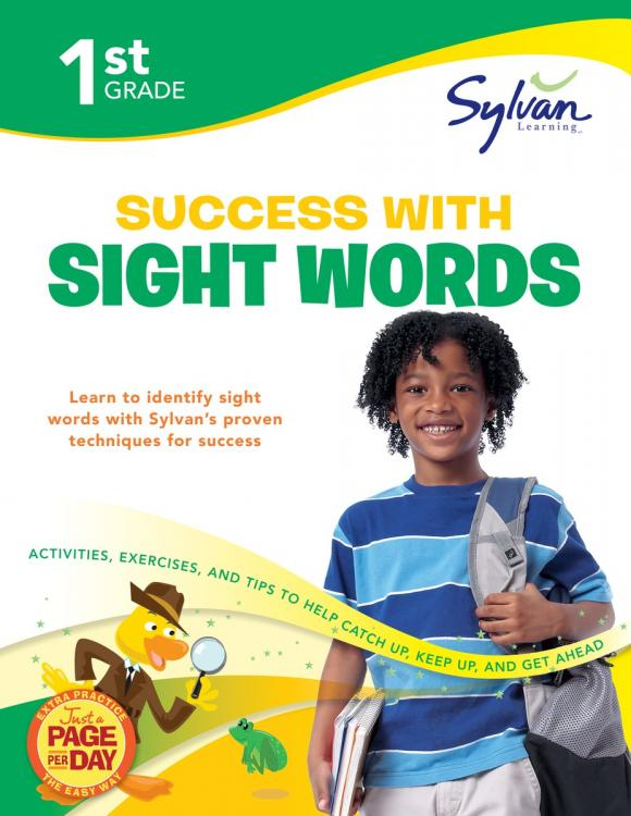 First Grade Success with Sight Words (Sylvan Workbooks) fifth grade super reading success sylvan super workbooks