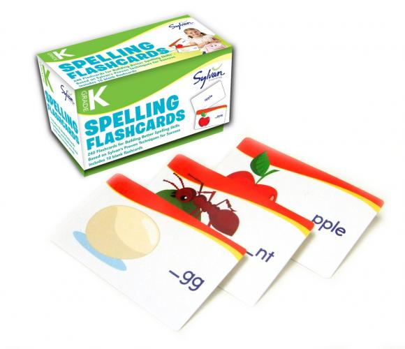 Kindergarten Spelling Flashcards new yippee red flashcards