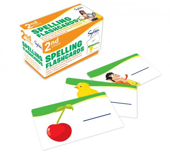 Spelling: 2nd Grade: Flashcards (набор из 240 карточек) spelling grades 1 2