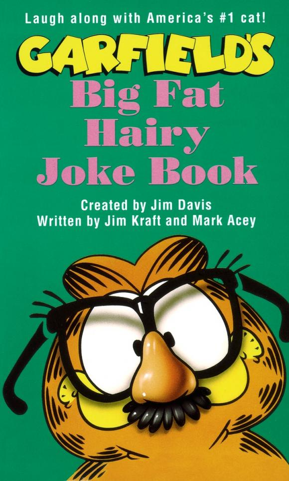 Garfield Big Fat Hairy Joke Book the crazy christmas joke book