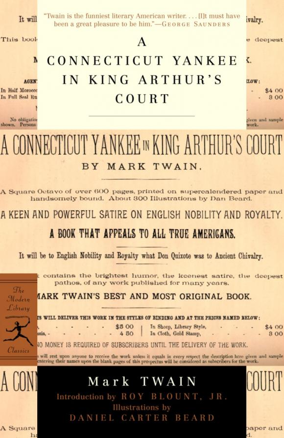 A Connecticut Yankee in King Arthur's Court half a king