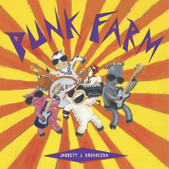 Punk Farm игровые наборы tomy britains big farm фермерский прицеп со свинками