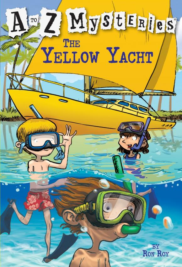 A to Z Mysteries: The Yellow Yacht a to z mysteries the jaguar s jewel