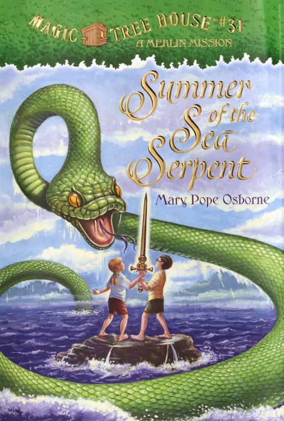 Magic Tree House #31: Summer of the Sea Serpent mary pope osborne magic tree house 39 dark day in the deep sea
