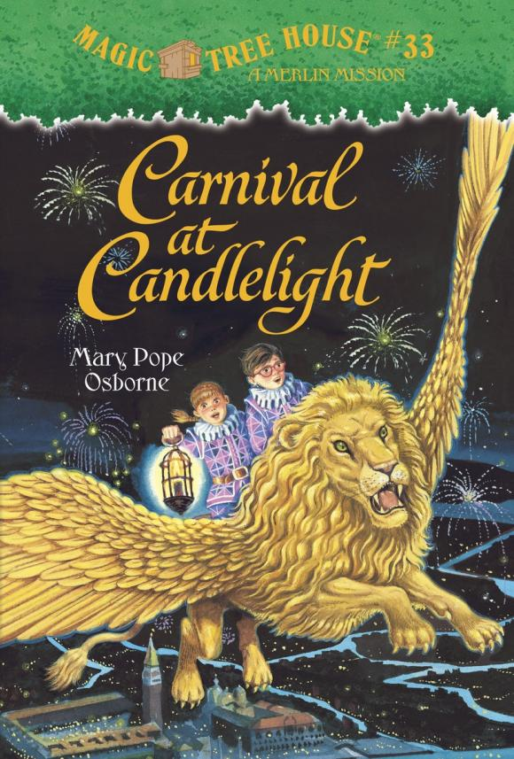 Magic Tree House #33: Carnival at Candlelight magic retouch лореаль цена