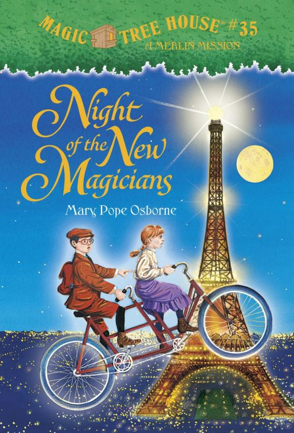 Magic Tree House #35: Night of the New Magicians the house of mirth