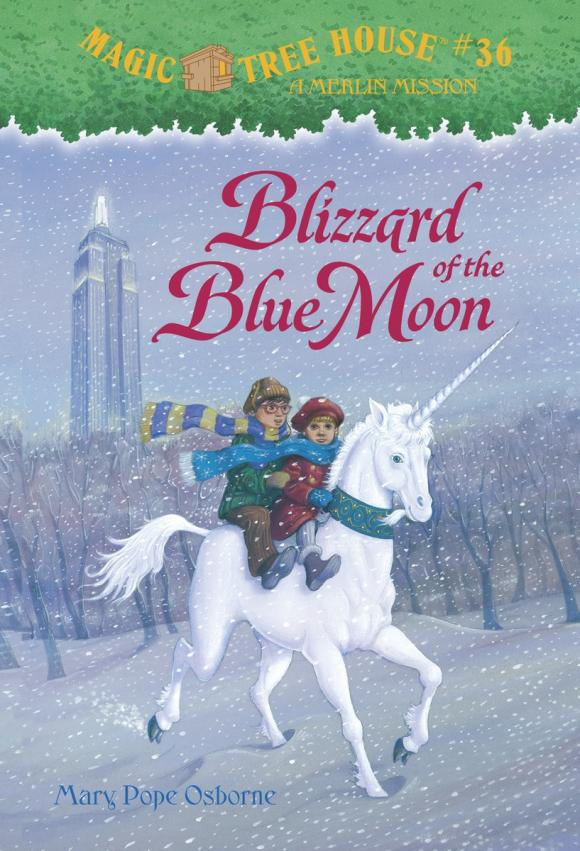 Magic Tree House #36: Blizzard of the Blue Moon the immortals blue moon