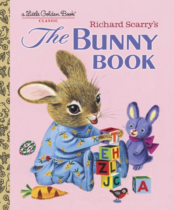 Купить Richard Scarry's The Bunny Book