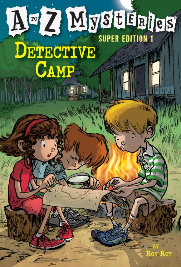 A to Z Mysteries Super Edition 1: Detective Camp z ultra google edition