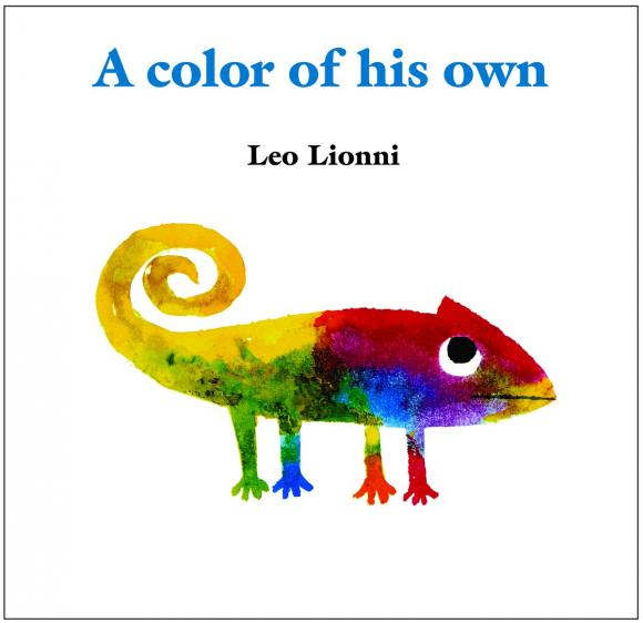 A Color of His Own frog on his own